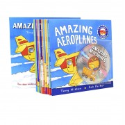 Macmillan Children's Books Amazing Machines Childrens 10 Books With CD Collection Set - Ages 5-7 - Paperback - Tony Mitton
