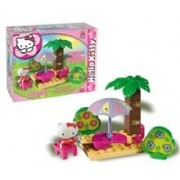 Set Constructie Unico Plus Hello Kitty Picnic