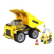 Dump Trucks Construction Bricks Building Toy Vehicle Blocks Kit 423 Pieces Kids Birthday Christmas Santa Xmas New Years Party Favor Educational DIY Engineering Truck Play Set 6 Years Old and Up