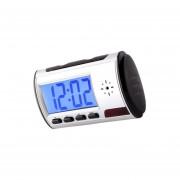 Reloj Tipo Despertador Camara Espia Seguridad Detecta Mov Generico - Gris