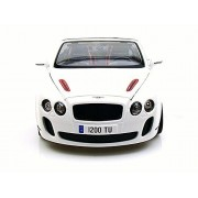 Bentley Continental Supersports Convertible ISR, White - Bburago 11035 - 1/18 scale Diecast Model Toy Car