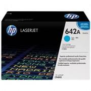 HP 642A cyan LaserJet-tonerkassett, original