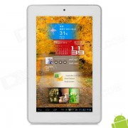 """alline FINE7 AIR 7 """"IPS dual core android 4.1 Tablet PC con 1 GB de RAM / 16 GB ROM / HDMI - blanco"""