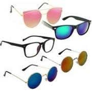 Vitoria Cat-eye, Spectacle , Wayfarer Sunglasses(Multicolor)