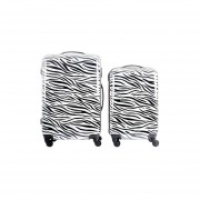 Set de 2 Maletas Zebra para Viajes
