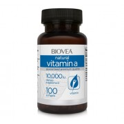 VITAMINA A - 10,000 IU, 100 Gelule