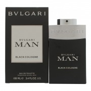 Bulgari man black cologne 100 ml eau de toilette edt profumo uomo bvlgari