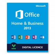 Microsoft Office 2013 Home and Business - Licencia digital - Software para descargar