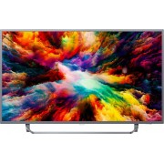 Televizor LED Philips 50PUS7303/12, Smart TV, Android TV, 126 cm, 4K Ultra HD, Argintiu