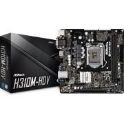 Matična ploča AsRock LGA1151 H310M-HDV DDR4/SATA3/GLAN/7.1/USB 3.1