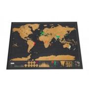 Harta razuibila a lumii GMO Deluxe