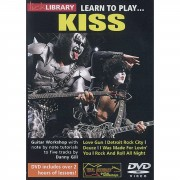 Roadrock International Lick Library: Learn To Play Kiss DVD