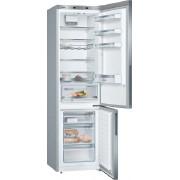 Combina frigorifica Bosch KGE39ALCA, 337 L, Super-racire, Low Frost, Afisaj LED, VitaFresh 0°C, Suport sticle, H 201 cm, Clasa A+++, InoxLook