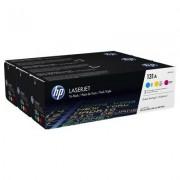 HP Confezione da 3 cartucce Toner originali ciano/magenta/giallo LaserJet 131A