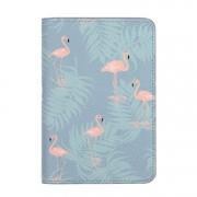Husa pasaport Coperta Pasaport Flamingo