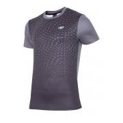 4f Dynamic Black - férfi fitness póló