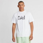 Aries Aloha From Hell Basic Short Sleeve t White
