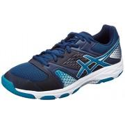 Asics Men's Gel-Domain 4 Poseidon, Blue Jewel and White Indoor Multisport Court Shoes - 11 UK/India (46.5 EU)(12 US)