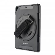 4smarts Rugged Tablet Case Grip - ударо и водоустойчив калъф за iPad Air 3 (2019), iPad Pro 10.5 (черен)