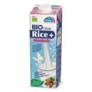 Lapte din orez cu migdale bio 1l THE BRIDGE