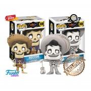 Set 2 Figuras De Coco Hector Y Ernesto Funko Pop Coco Disney Pelicula