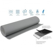 Strauss Yoga Mat 6 MM (Grey)