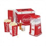 Mallette à pop corn avec appareil et accessoires Coca Cola Retro Series CC650 Simeo