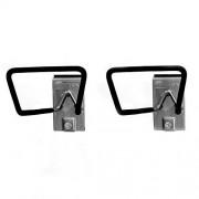 Proslat 13016 Soporte para manguera/cable diseñado para tableros de PVC , 2 unidades