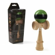 Kendama, verde si negru, 180x70x60mm