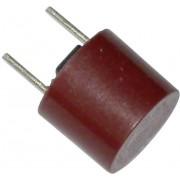 Siguranţă micro-miniatură Eska, 250 V, capacitate de rupere 100 A, curent nominal 250 mA, versiune rotundă
