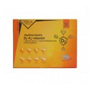 Napfényvitamin D3-K2-vitamin és szerves nyomelem komplex Prebiotikummal 30 db kapszula