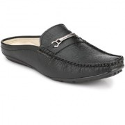 Shoe Rider Men's Black Synthetic Leather Casual Loafer
