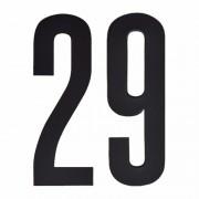 Geen Leeftijd cijfer stickers 29 jaar