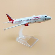 1:300 Air India Airbus A320-231 Scale Metal Model Aircraft, Highly Detailed Souvenir Model Aircraft Collection