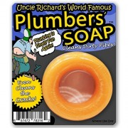 Uncle Richards Plumbers Soap Cleans Dirty Pipes Plumber Gifts for Men Funny Soap for Men Naughty Stocking Stuffers Plumber Tools Willy Washer Wiener Cleaner Dick Soap