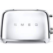 Smeg TSF01SSUK 50's Retro Style 2 Slice Toaster - Stainless Steel