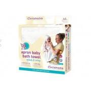 Clevamama Prosop de baie pentru bebelusi - Alb