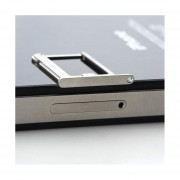 EH Ranura Para Soporte De Bandeja Micro SIM Card Para Apple Iphone 4 4S -Plata