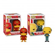 Set Radioactive man y Mr. Burns SImpson Funko pop
