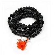 Jaipur Gemstone 100% Original Unheated & Untreated Best Quality Black sulemani Hakik Mala For Unisex