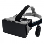 """VR 3D Video Gafas w / Bluetooth Mouse para 3.5 ~ 5.6 """"Telefono - Negro"""