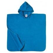 Poncho de Bain ˆ Capuche LOOLY (360g/m2) Turquoise (6/8 ans)