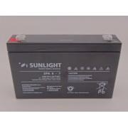 Sunlight 6V - 7Ah baterie AGM VRLA SPA 6 - 7