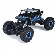 Remote Radio Control Cars Aibay RC Rock Off-Road Vehicle 2.4Ghz 4WD Fast Speed Racing Cars Electric Rock Crawler Electric Buggy Hobby Car Fast Race Crawler Truck Blue