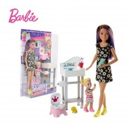 Barbie Babysitter FHY97- trono real