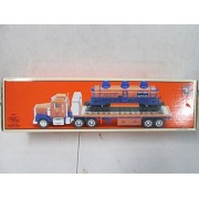 Taylor Made Trucks Lionel Flatbed Toy Truck With Operating Lights Sounds And 3 Dome Tank Car