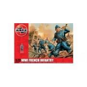 Kit Constructie Airfix Soldati Wwii Infanterie Franceza
