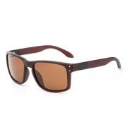 rosegal TOMYE P832 Fashion PC Square Frame Polarized Sunglasses for Men and Women