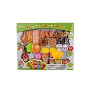 Kid's Play Variety Breakfast Lunch Dinner Snack Food Assortment Fast Foods