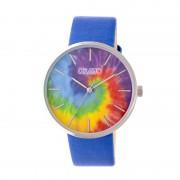 Crayo Swirl Strap Watch - Silver/Blue CRACR4202